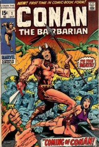 Marvel Comics Conan the Barbarian