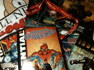 FanExpo 2011 All New Comics swag