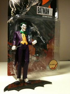 FanExpo 2011 Joker action figure