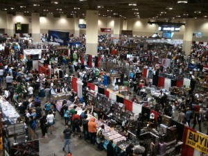 FanExpo 2011 Main Floor