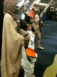 FanExpo 2011 Star Wars Family