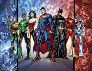 DC Comics Justice League Re-launch