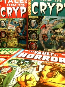 Tales from the Crypt and Vault of Horror covers