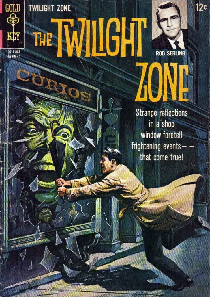 Book Cover Series Zone : Next stop the twilight zone odd comic or two