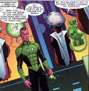 Sinestro In Green Lantern #1